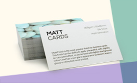 Offer for 500x Matt Lamination Business Cards for £18