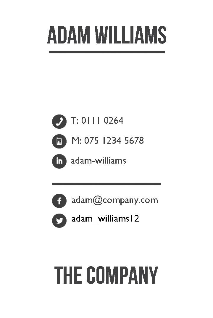 Free Business Cards Templates | Instantprint.Co.Uk