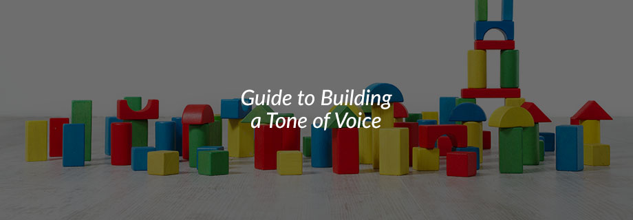 Guide to Building a Tone of Voice