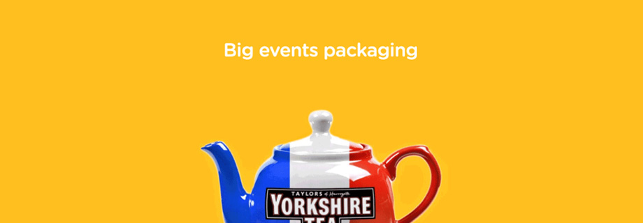 Big Events and Witty On-Package Marketing