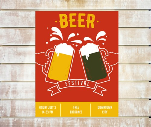 a3 size beer festival poster