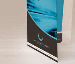 A4 Oversized Interlocking Presentation Folders