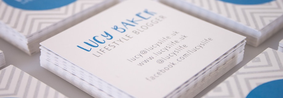 Business cards design printing instantprint 15 inspirational square business cards reheart Gallery