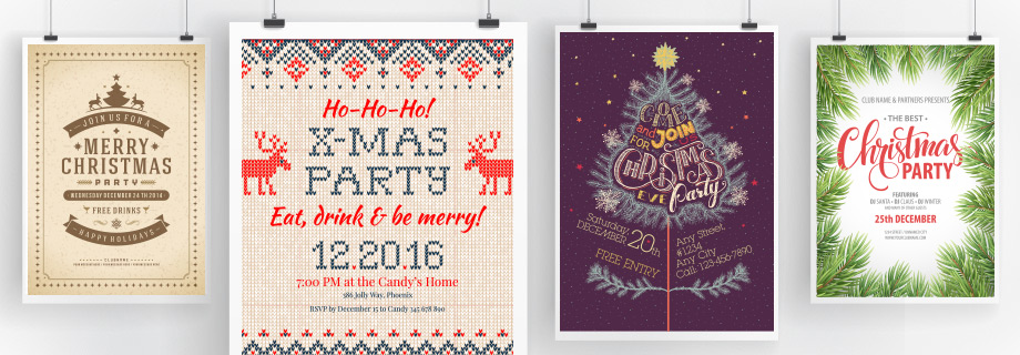 How to Create an Awesome Christmas Party Poster