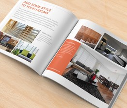 210 Square Booklets and Brochures
