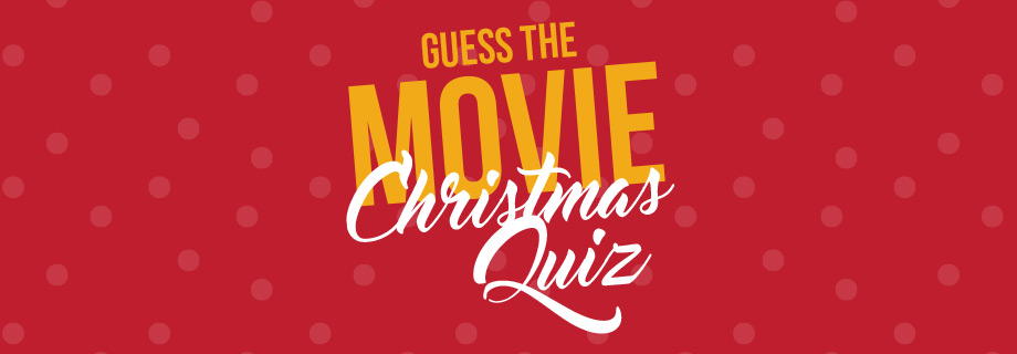 Guess the Movie – Christmas Poster Quiz