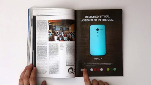 motorola colour changing advert