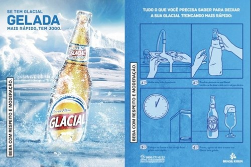 glacia cooling advert