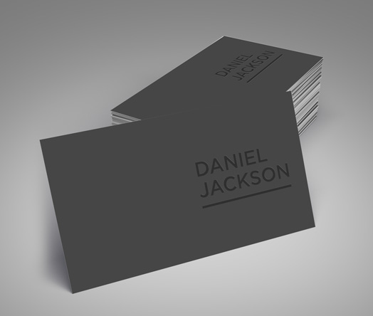 Business cards design printing instantprint spot uv business cards reheart Gallery