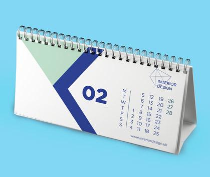 Desk Calendar 2020.Custom Desk Calendars Instantprint