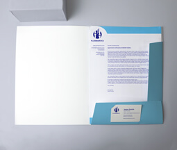 A4 Interlocking Presentation Folders