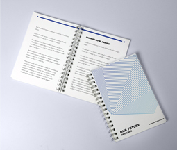 A6 Wire Bound Brochures & Booklets