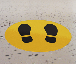 Vinyl Floor Sticker Decals