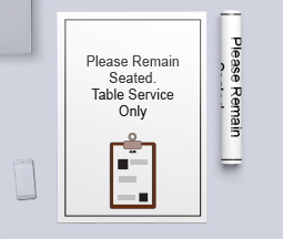 Table Service Only
