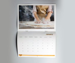 2021 A5 Drilled Hole Calendars