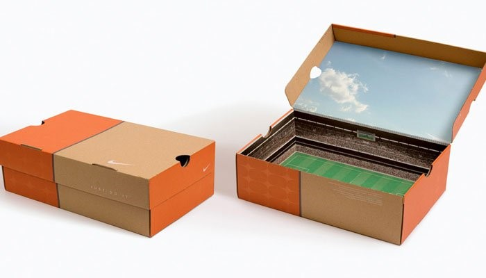 football stadium inside a shoe box
