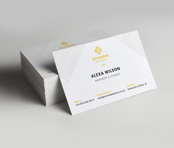 Printed Business Card for groomer
