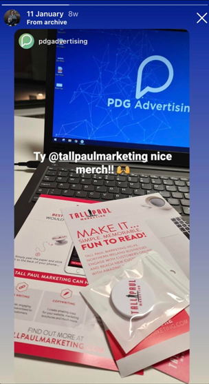 Social media responses to Tall Paul's direct mailer