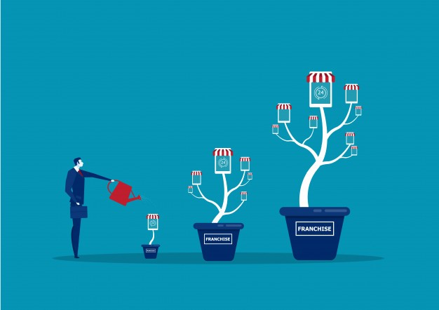 watering franchises to grow them like trees