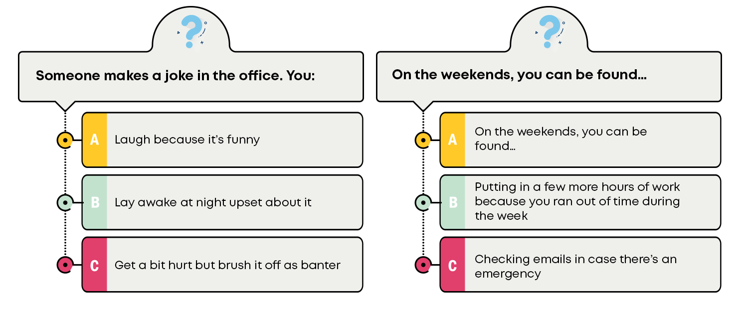 Part 2 of the toxic workplace questionnaire