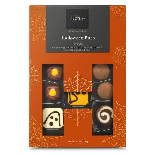 Halloween chocolate box from hotel chocolat